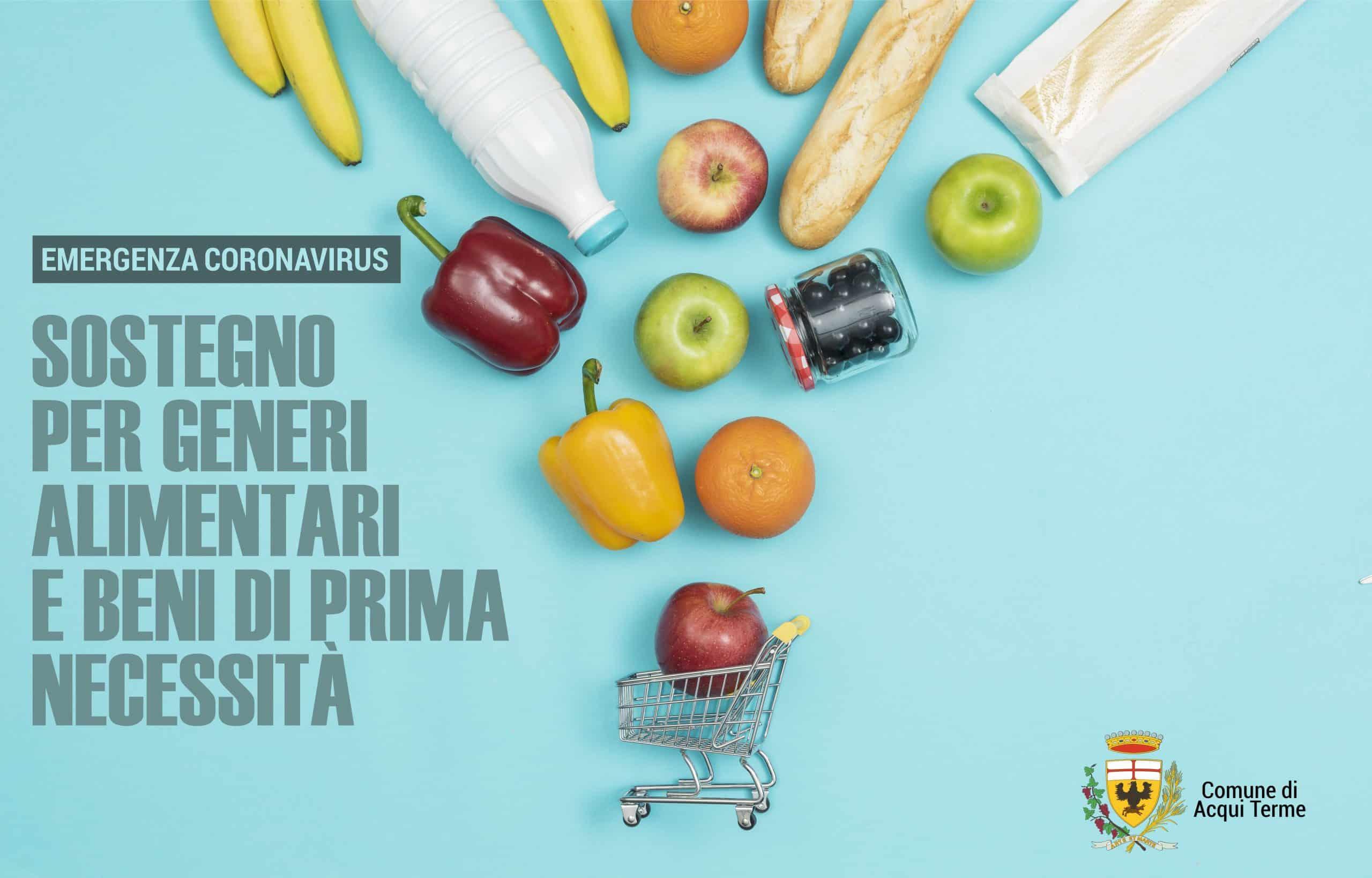 Immagine - Sostegno per generi alimentari e beni di prima necessità