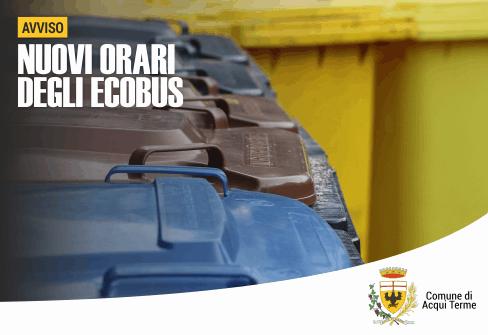 Apre imamgine Ecobus, da gennaio cambiano gli orari del servizio