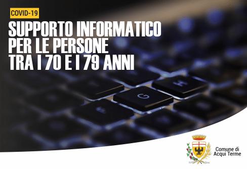 Apre imamgine Supporto informatico per le persone tra i 70 e i 79 anni
