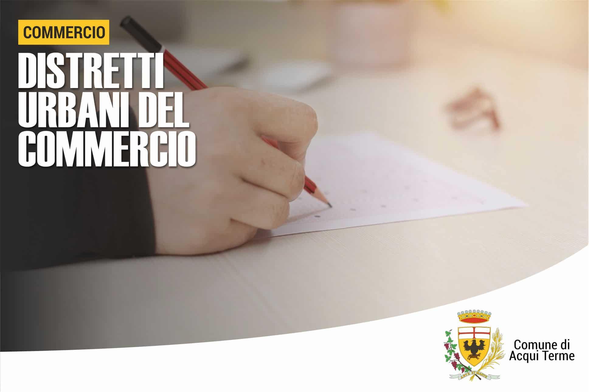 Immagine - Distretti Urbani del Commercio: questionario online